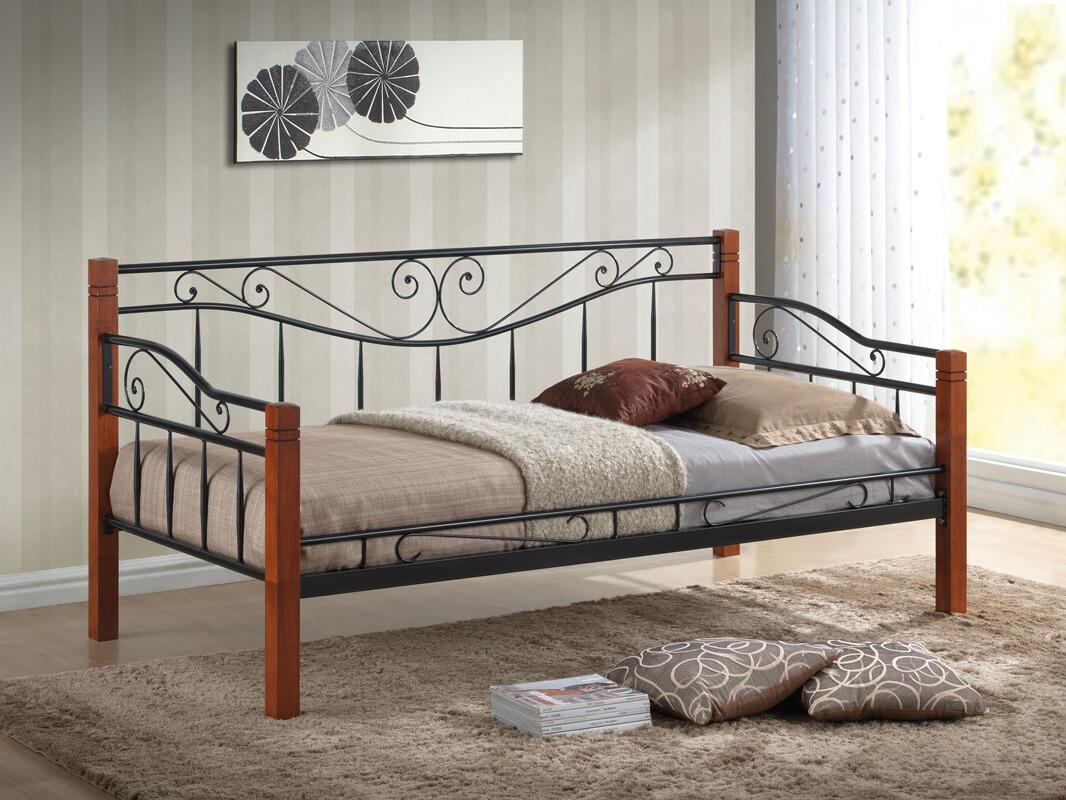 Kovová postel - dvoulůžko Kenia