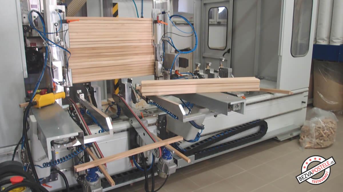 Výroba lamelového roštu - příprava rámu